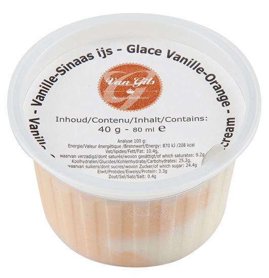 Picture of Duo Vanille/Orange Icecream Cup