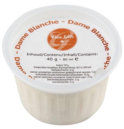 Picture of Dame Blanche Dairy Icecream Cup