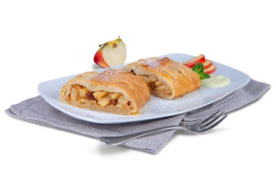 Picture of Applestrudel puffpastry 10x100 Gr